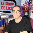 """Exclusif - Thierry Beccaro fait la promotion de son livre """"Je suis né à 17 ans..."""" lors de l'émission """"Le Show de Luxe"""" sur la Radio Voltage à Paris, France, le 11 décembre 2018. © Philippe Baldini/Bestimage"""