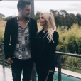 Kevin Guedj et Carla Moreau futurs parents radieux - Instagram, 23 avril 2019