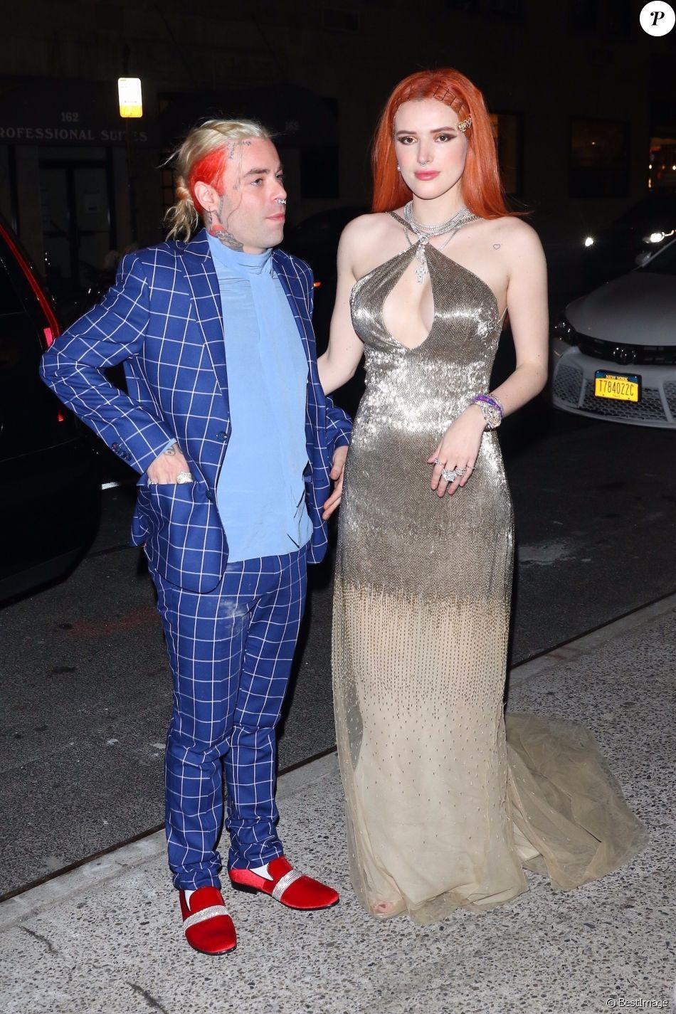 Bella Thorne et son compagnon Mod Sun arrivent à la soirée Carnegie Hall à New York, le 25 mars 2019.