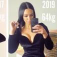 Emilie Nef Naf affiche sa prise de poids sur Instagram, le 9 juin 2019.