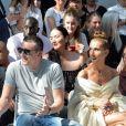 Céline Dion et Pepe Munoz assistent au défilé de mode Haute-Couture Automne/Hiver 2019/2020 Alexandre Vauthier à Paris. Le 2 juillet 2019. © Veeren Ramsamy / Christophe Clovis / Bestimage