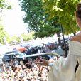 Celine Dion assiste au défilé de mode Haute-Couture Automne/Hiver 2019/2020 Alexandre Vauthier à Paris. Le 2 juillet 2019. © Veeren Ramsamy / Christophe Clovis / Bestimage