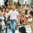 Défilé de mode Haute-Couture Automne/Hiver 2019/2020 Alexandre Vauthier à Paris. Le 2 juillet 2019.