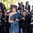 """Carla Bruni-Sarkozy - Montée des marches du film """"Les Misérables"""" lors du 72ème Festival International du Film de Cannes. Le 15 mai 2019 © Borde / Bestimage"""