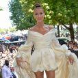 Celine Dion - Front row du Défilé de mode Haute-Couture Automne/Hiver 2019/2020 Alexandre Vauthier à Paris. Le 2 juillet 2019. © Veeren Ramsamy / Christophe Clovis / Bestimage