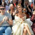 Celine Dion, Pepe Munoz, Morgane Polanski - Front row du Défilé de mode Haute-Couture Automne/Hiver 2019/2020 Alexandre Vauthier à Paris. Le 2 juillet 2019. © Veeren Ramsamy / Christophe Clovis / Bestimage
