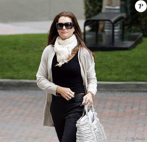 Brooke Shields à Beverly Hills, le 23 juin 2009