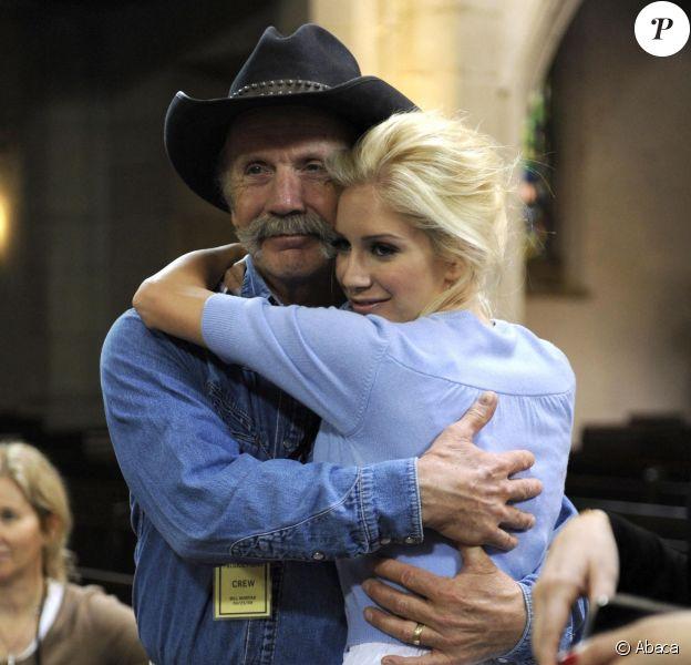 Heidi Montag et son père Bill. Avril 2009.