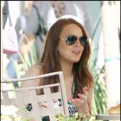 Lindsay Lohan : elle remange enfin !
