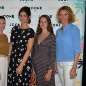 Sylvie Tellier, Mélanie Bernier, Maude (Les Anges 5)... : Détendues en péniche
