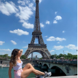 """Angélique de """"Koh-Lanta 2019"""" à Paris, le 3 juillet 2019"""