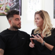 Jessica Thivenin et son mari Thibault Kuro font des confidences sur la grossesse de la jeune femme dans une vidéo postée sur le compte YouTube Monsieur Kuro. Mai 2019.