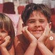 La belle Ophélie Meunier et son grand frère Edouard. Des photos dévoilées le 13 juillet 2019.
