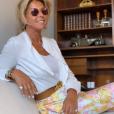 Caroline Margeridon souriante sur Instagram, le 24 juin 2019