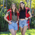 "Kleofina et Julia, candidats de ""Pékin Express 2019"", photo officielle de M6"