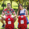 "Mounir et Lydia, candidats de ""Pékin Express 2019"", photo officielle de M6"