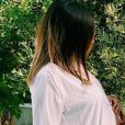 Anaïs Camizuli enceinte, pose avec son meilleur ami Eddy, le 7 mai 2019