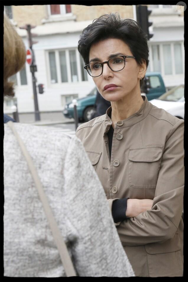 Exclusif - - Déplacement de Rachida Dati dans le XIVème arrondissement de Paris le 10 mai 2019. © Alain Guizard/Bestimage