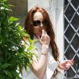 Lindsay Lohan sort de chez Samantha Ronson