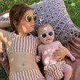 Laurent Ournac présente ses deux enfants Capucine (6 ans) et Léon (3 mois) à l'occasion de la fête des Mères, le 26 mai 2019, sur Instagram.