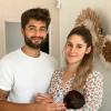 Jesta et Benoît (Koh-Lanta) parents: leurs premières photos à 3 avec Juliann