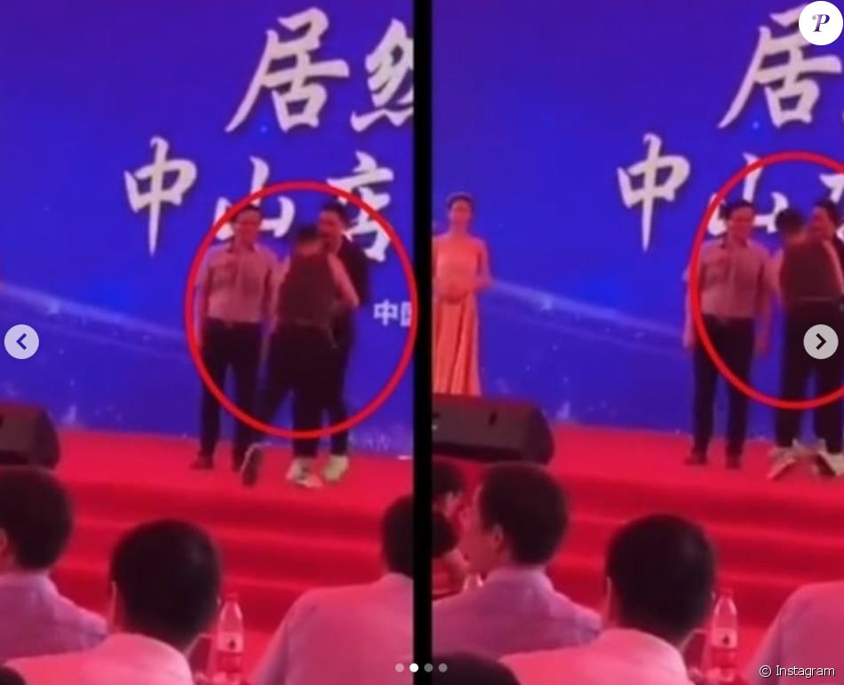 L'acteur Simon Yam (Tomb Raider) poignardé sur scène lors d'un événement promotionnel en Chine (Juillet 2019).