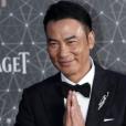 L'acteur honkongais Simon Yam aperçu dans Lara Croft : Tomb Raider, le berceau de la vie a été poignardé sur scène en Chine (Juillet 2019).
