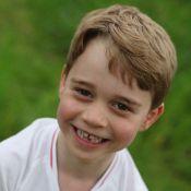 Le prince George a 6 ans : sourire à trous et maillot de foot en photos