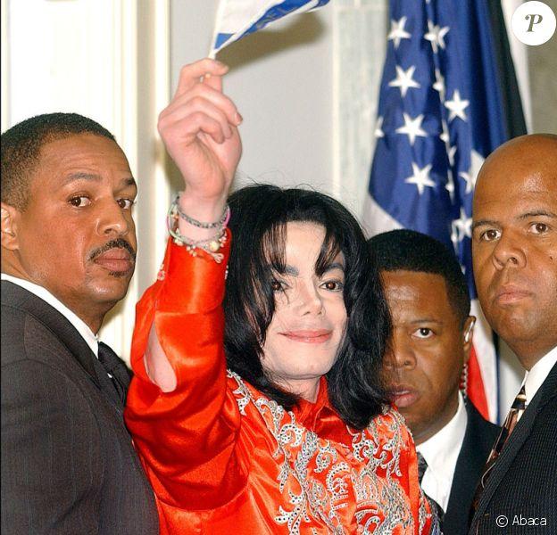 Michael Jackson en 2004