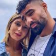 """Jonathan des """"Marseillais VS Le reste du monde"""" avec Sarah Lopez, le 5 juillet 2019, à Nice"""