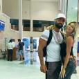 """Sarah Lopez et Jonathan à la fin du tournage de """"Moundir et les apprentis aventuriers 4"""" - Instagram, 7 mai 2019"""