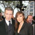 Vincent Cassel et Monica Bellucci à Paris le 12 octobre 2008