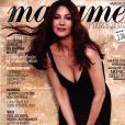 """Monica Bellucci dans """"Madame Figaro"""", en kiosques le 26 juillet 2019."""