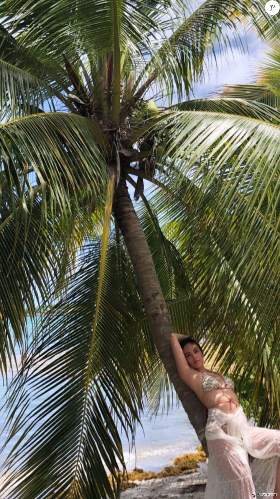 Agathe Auproux a partagé sur Instagram de nombreuses images de ses vacances en Martinique, en juillet 2019