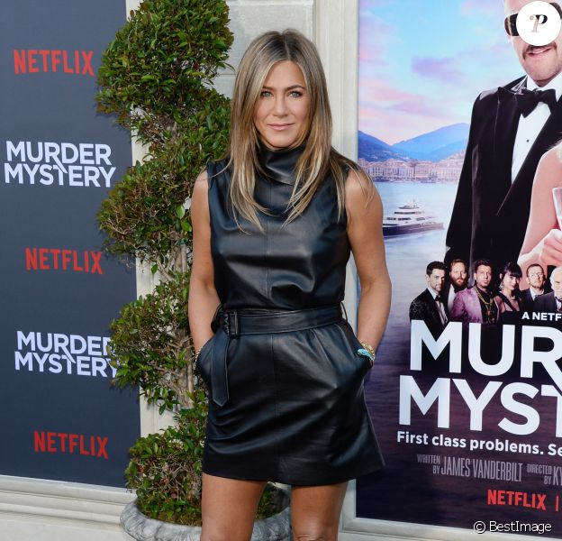 Jennifer Aniston à la soirée Murder Mystery au Linwood Dunn Theater à Hollywood, Los Angeles, le 10 juin 2019.