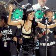Amy Winehouse au concert des 90 ans de Nelson Mandela, à Hyde Park. Londres, juin 2008.