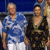 Catherine Zeta-Jones : Sublime touriste à Portofino, avec Michael Douglas