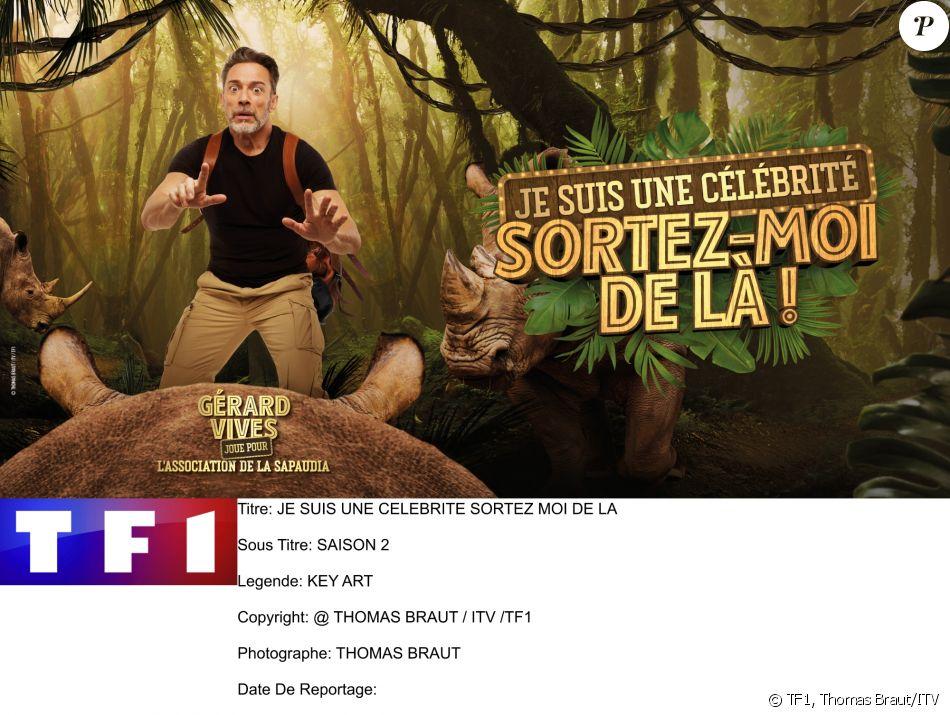"""Gérard Vives, photo officielle de """"Je suis une célébrité sortez-moi de là"""", sur TF1"""