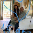 Laeticia Hallyday reposte en story Instagram les messages reçus pour le 15e anniversaire de Jade, le 3 août 2019.