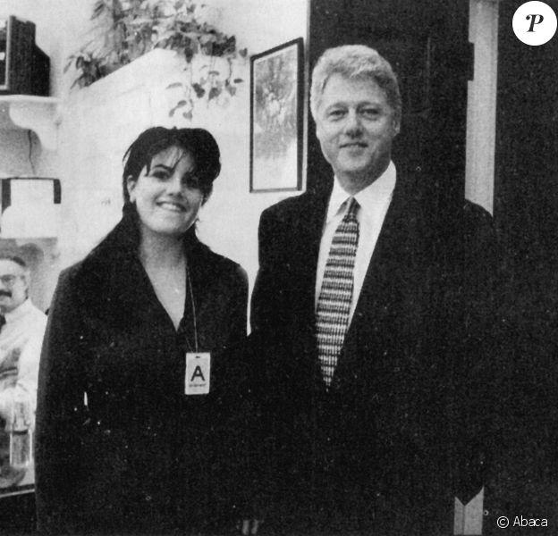 Bill Clinton et Monica Lewinsky à la Maison Blanche. Washington, novembre 1995.
