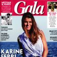 "Karine Ferri dans ""Gala"", le 8 août 2019."