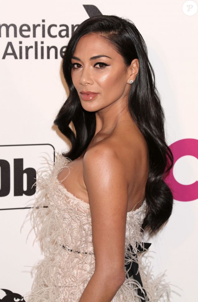 Nicole Scherzinger - People à la soirée caritative AIDS Foundation Academy Awards Viewing Party à Los Angeles le 24 février 2019.