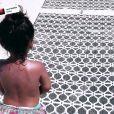 Amel Bent publie une vidéo de sa fille Hana courant et tombant sur sa page Instagram le 12 août 2019.