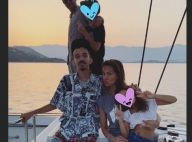 Melissa Theuriau, Jamel Debbouze et leurs enfants en vacances avec Bigflo