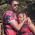 """Mounir et Lydia lors de l'épisode """"Pékin Express 2019"""" du 1er août, sur M6"""