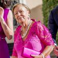La princesse Christina - Le couple royal des Pays-Bas lors d'un dîner officiel à Rome, à l'occasion de leur voyage de 4 jours en Italie. Le 20 juin 2017.