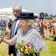 """La princesse Beatrix des Pays-Bas lors de la 5e édition du """"Zeeuwse Horse Day"""" à Oosterland, le 29 juin 2019."""