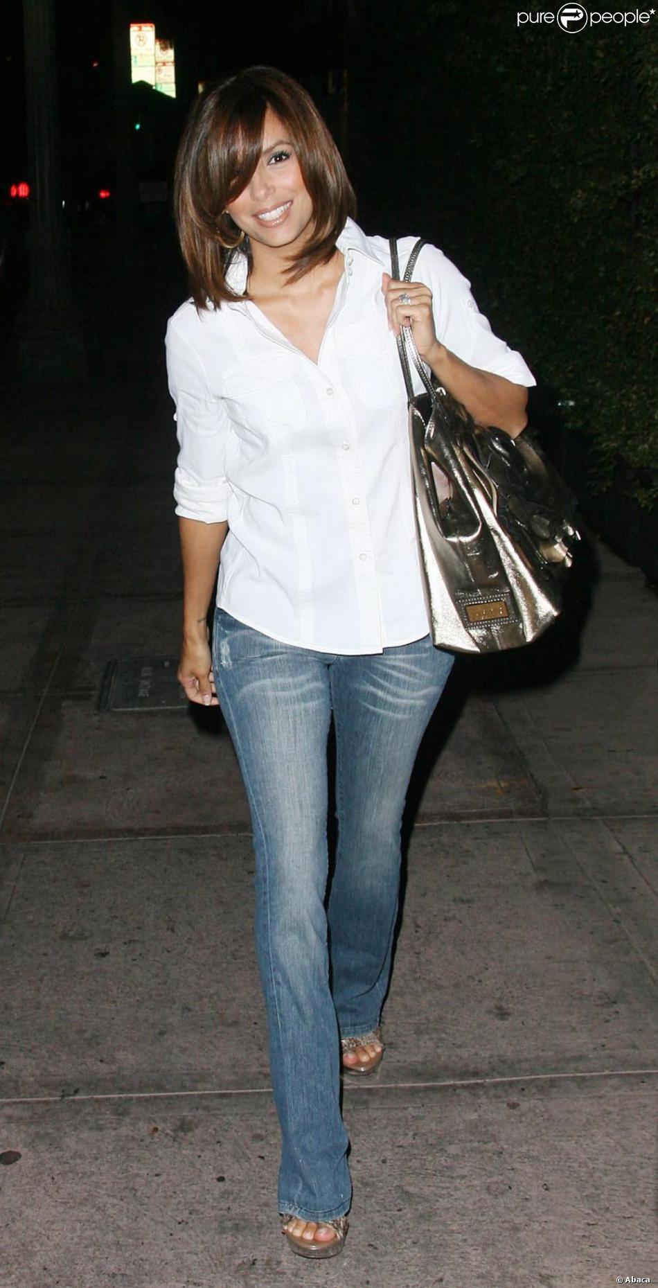 Eva Longoria avec sa nouvelle coupe de cheveux ! Le carré lui va si bien !