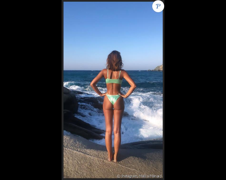 ba841bd8e1b7 Malika Ménard : Canon en bikini en Grèce, même dans la douleur ...