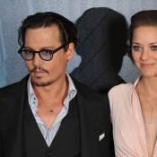 Marion Cotillard et Johnny Depp... des ennemis publics magnifiques à Paris !
